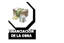 Financiación de la obra por el ente responsable de la obra